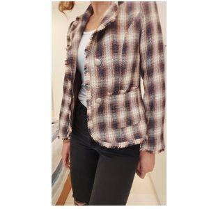Tweed Jacket JV Selection Fringe